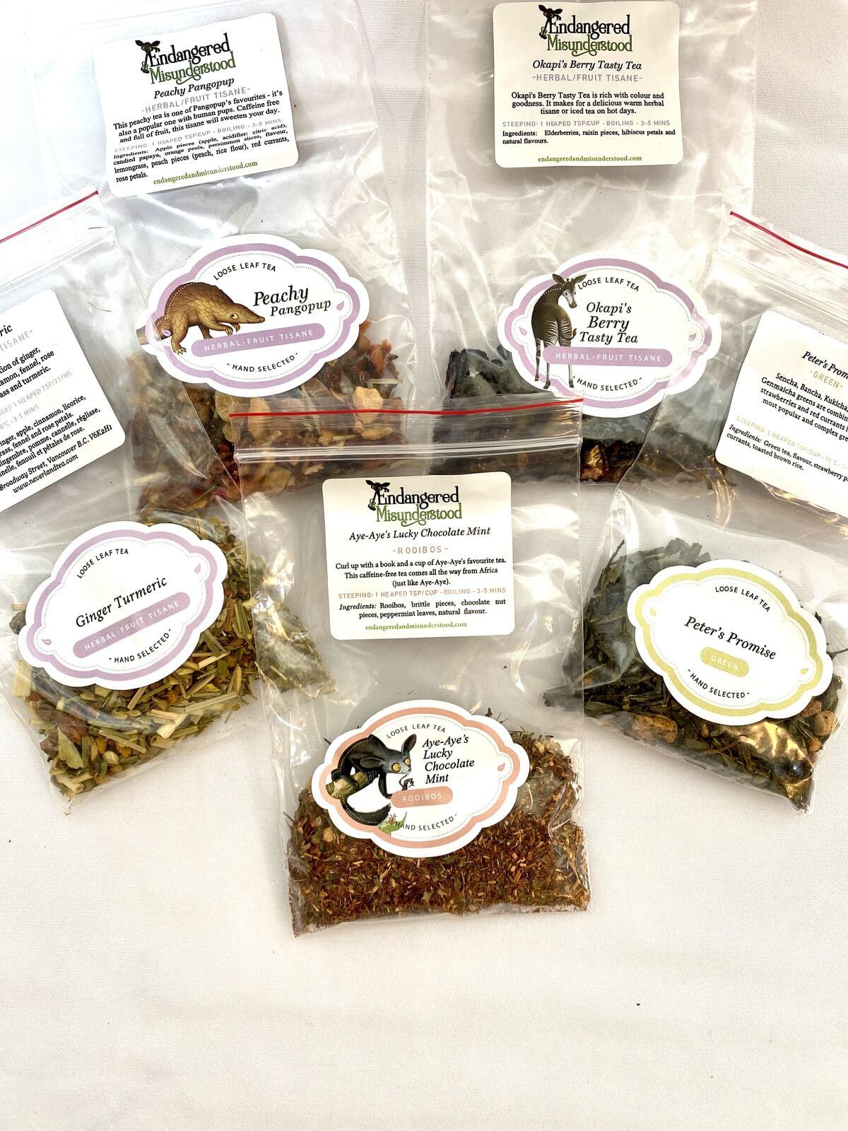 Image of Sample Teas
